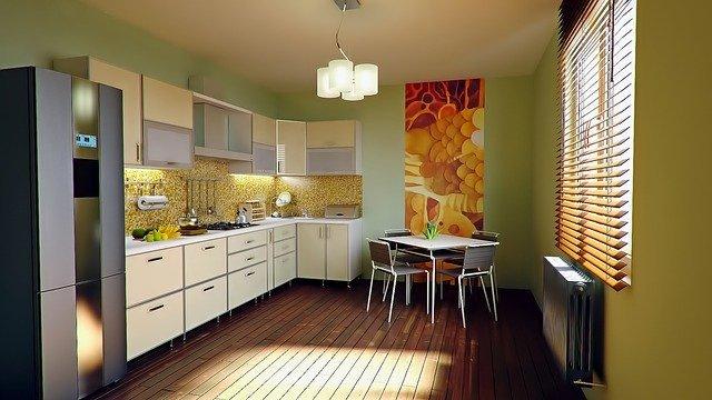 מטבח ניקיון לפני כניסה לדירה